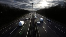 Driverless lorries are set to be tested on a stretch of the M6 in Cumbria