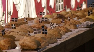 Hundreds of cooks lined up for the World Pasty Championships this weekend - appropriately held on St Piran's Day.