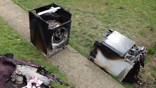 Ten people escaped from a house in Yeovil after a fire broke out at the weekend.