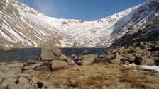 Goat's Water and Old Man of Coniston
