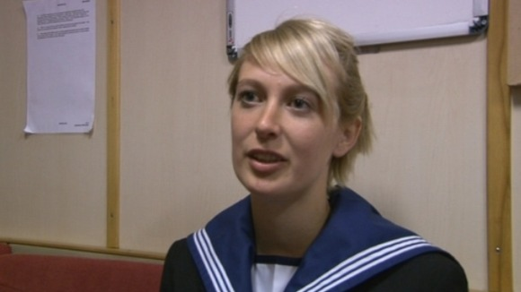 Able Seaman Chantelle Scott