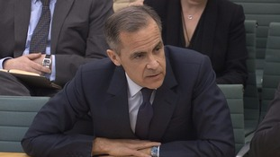 Mark Carney gave evidence to MPs at the Treasury Committee