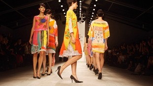 Design duo Antoni and Alison's catwalk show was the first of the event