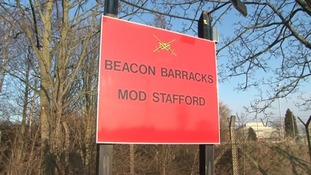 Beacon Barracks, where the Tactical Supply Wing is based