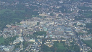 Cambridge from the air.