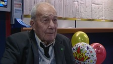ITV News Anglia first met George on his 101st birthday.