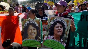 Human rights and environmental activist Berta Cáceres was murdered in Honduras earlier this month