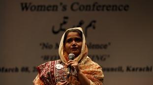 Rape survivor Kainat Soomro.