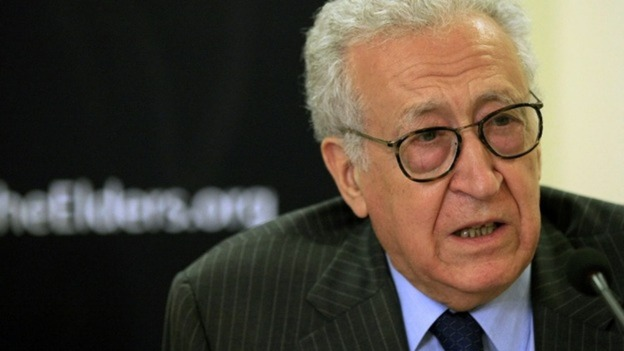 International mediator Lakhdar Brahimi met Syria's President Bashar al Assad today