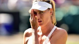 Sharapova at Wimbledon