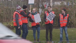 Cumbria's junior doctors join 48-hour walkout