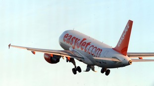 easyJet flight makes emergency landing as drunk passenger 'tries to open door at 30,000ft'