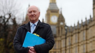 Peter Lawrence visited Parliament earlier this month.