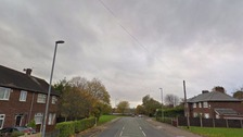 A man tried to snatch the boy on White Moss Road in Blackley, Manchester