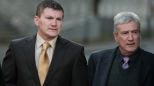Ex-world boxing champion Ricky Hatton and his father Ray