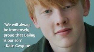 Bailey Gwynne's family release emotional tribute after his killer is convicted