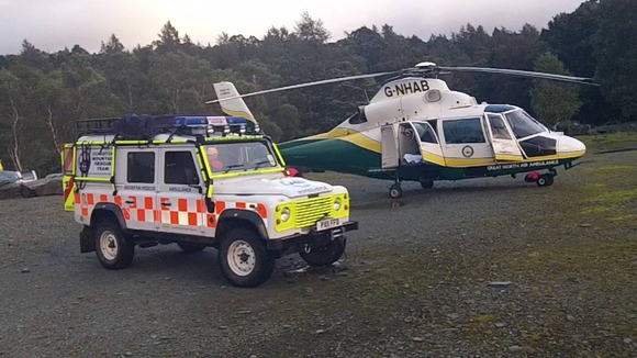 GNAA and Coniston Mountain Rescue