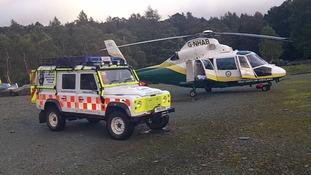 GNAA and Coniston Mountain Rescue