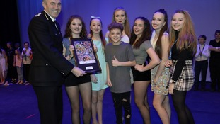 North Yorkshire school pupils perform in healthy lifestyle event