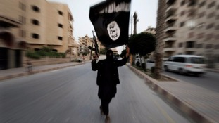 The documents contain personal details of fighters for Islamic State