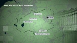 BANES map