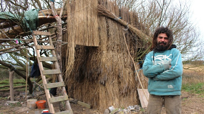 Great Maciej Urbanowicz Built The House By Harvesting Reeds From Marshland.