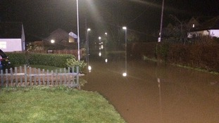 Surface run off caused flash floods on streets mainly in Cambridgeshire and Northamptonshire.