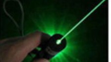 Lasers can temporarily blind pilots