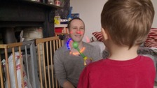 Simon Hobeck found acceptance when he adopted a son with his husband two years ago.