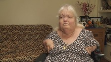Louise says her body is five to ten years older than she is.