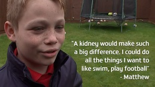 Boy who has been waiting for transplant nearly his whole life says a kidney would let him be 'a normal ten-year-old'