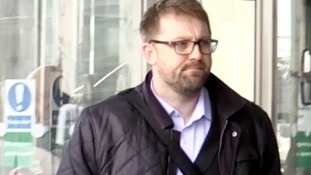 James Titcombe, father of Joshua Titcombe, arriving at the hearing earlier this week