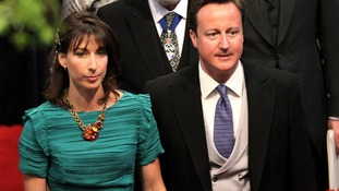 Samantha & David Cameron