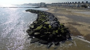 Sea defence work finished and south beach re-opened in Lowestoft