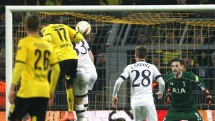 Europa League match report: Borussia Dortmund 3-0 Spurs