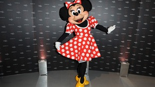 Minnie Mouse at the Inspired by Minnie Mouse collection launch
