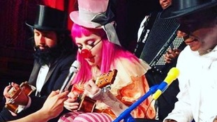 Madonna tells fans she 'doesn't know when she'll see son Rocco again' at circus-themed show in Australia