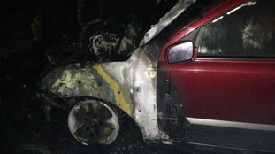 Five cars were set alight in arson attacks in Chelmsford on Thursday night.