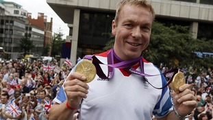 Britain's most successful Olympian Sir Chris Hoy.