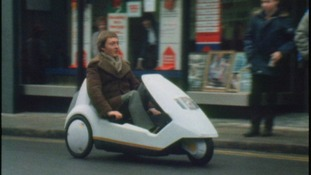 Do you remember the Sinclair C5? This is what happened when Welsh shoppers got to try it...