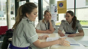 In future student nurses will need to take out a student loan to pay their university tuition fees.