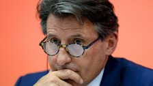 Lord Coe was elected IAAF president in August