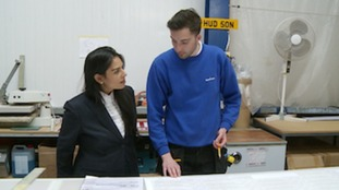 Priti Patel MP brought her campaign to leave the Hudson Group in Suffolk.