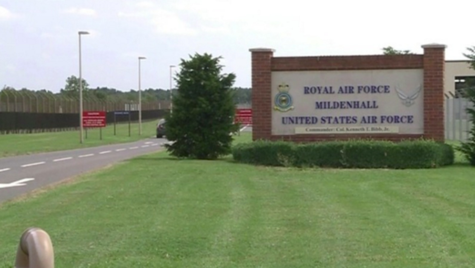 how should land at raf mildenhall be used