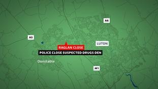 Raglan Close, Luton.