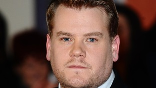 Entertainer James Corden.