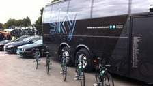 Team Sky bikes