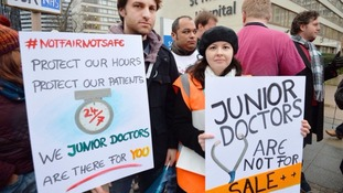 There have been a number of strikes by junior doctors