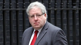 Transport Secretary Patrick McLoughlin pictured arriving at No.10 Downing Street.
