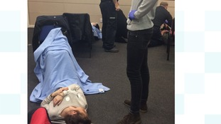 A St John Ambulance training course